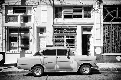 Cuba Fuerte Collection B&W - 3119 Street Havana-Philippe Hugonnard-Photographic Print