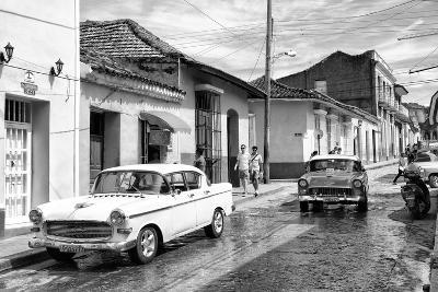 Cuba Fuerte Collection B&W - 321 Carmen Cervera - Street Scene II-Philippe Hugonnard-Photographic Print