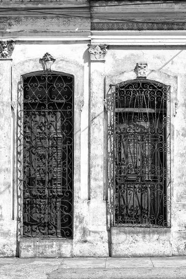 Cuba Fuerte Collection B&W - Cuban Architecture II-Philippe Hugonnard-Photographic Print