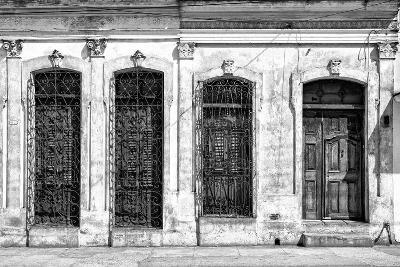 Cuba Fuerte Collection B&W - Cuban Architecture-Philippe Hugonnard-Photographic Print