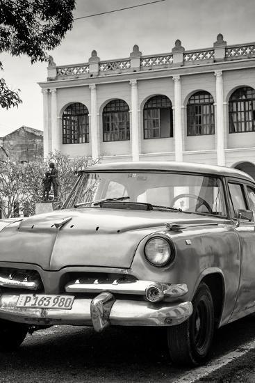 Cuba Fuerte Collection B&W - Cuban Classic Car III-Philippe Hugonnard-Photographic Print