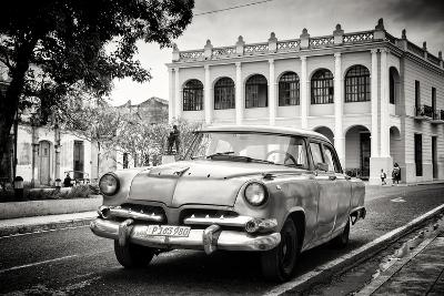 Cuba Fuerte Collection B&W - Cuban Classic Car-Philippe Hugonnard-Photographic Print