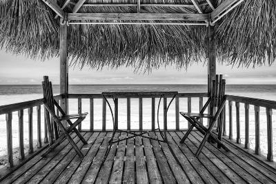 Cuba Fuerte Collection B&W - Ocean View II-Philippe Hugonnard-Photographic Print