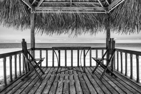 Cuba Fuerte Collection B&W - Ocean View II-Philippe Hugonnard-Photographic Print