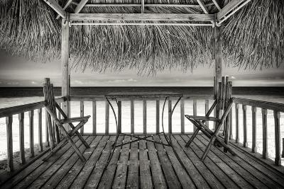 Cuba Fuerte Collection B&W - Ocean View-Philippe Hugonnard-Photographic Print