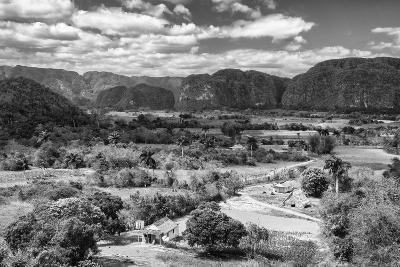 Cuba Fuerte Collection B&W - Vinales Valley III-Philippe Hugonnard-Photographic Print