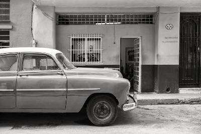 Cuba Fuerte Collection B&W - Vintage Classic American Car-Philippe Hugonnard-Photographic Print