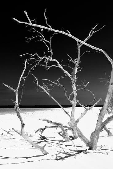 Cuba Fuerte Collection B&W - White Beach V-Philippe Hugonnard-Photographic Print