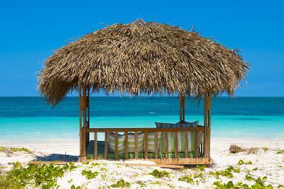 Cuba Fuerte Collection - Beach Hut-Philippe Hugonnard-Photographic Print