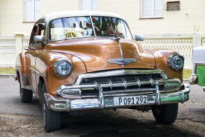 Cuba Fuerte Collection - Brown Taxi-Philippe Hugonnard-Photographic Print