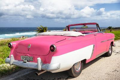 Cuba Fuerte Collection - Classic Pink Car Cabriolet-Philippe Hugonnard-Photographic Print