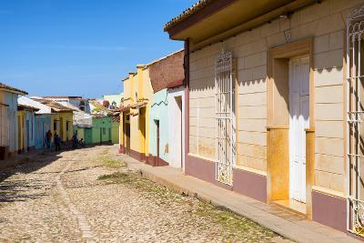 Cuba Fuerte Collection - Colorful Architecture Trinidad V-Philippe Hugonnard-Photographic Print