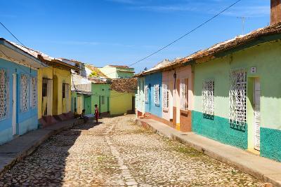 Cuba Fuerte Collection - Colorful Architecture Trinidad VI-Philippe Hugonnard-Photographic Print