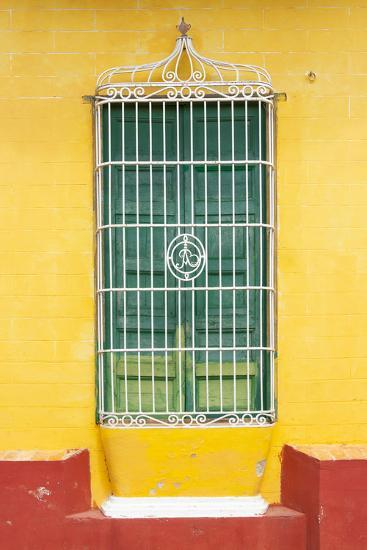 Cuba Fuerte Collection - Colorful Cuban Window-Philippe Hugonnard-Photographic Print