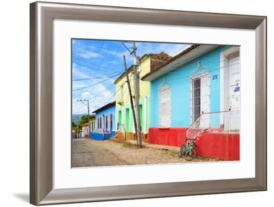 Cuba Fuerte Collection - Colorful Facades II-Philippe Hugonnard-Framed Photographic Print