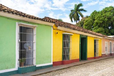 Cuba Fuerte Collection - Colorful Street Scene in Trinidad II-Philippe Hugonnard-Photographic Print