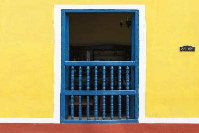 Cuba Fuerte Collection - Colorful Window-Philippe Hugonnard-Photographic Print