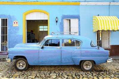 Cuba Fuerte Collection - Cuban Blue II-Philippe Hugonnard-Photographic Print