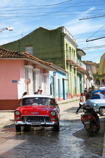 Cuba Fuerte Collection - Cuban Street Scene V-Philippe Hugonnard-Photographic Print