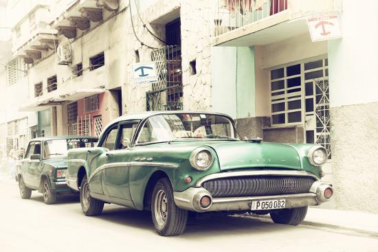 Cuba Fuerte Collection - Cuban Taxi to Havana-Philippe Hugonnard-Photographic Print