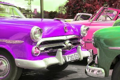 Cuba Fuerte Collection - Havana Vintage Classic Cars II-Philippe Hugonnard-Photographic Print