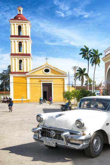 Cuba Fuerte Collection - Main square of Santa Clara II-Philippe Hugonnard-Photographic Print