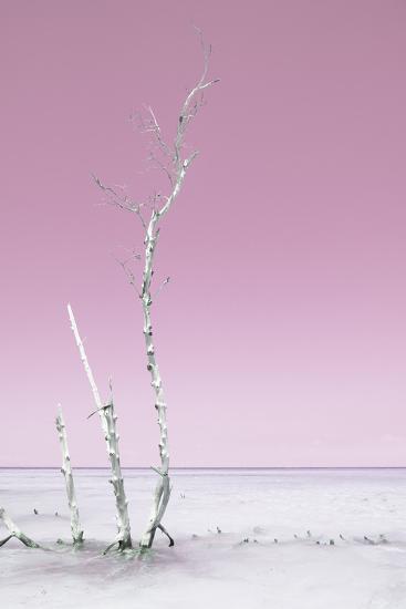 Cuba Fuerte Collection - Ocean Nature - Pastel Pink-Philippe Hugonnard-Photographic Print