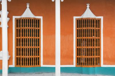 Cuba Fuerte Collection - Orange Facade-Philippe Hugonnard-Photographic Print
