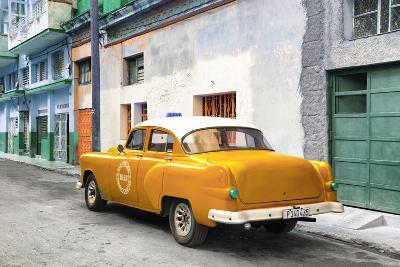 Cuba Fuerte Collection - Orange Taxi Pontiac 1953-Philippe Hugonnard-Photographic Print