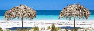 Cuba Fuerte Collection Panoramic - Beach Couple-Philippe Hugonnard-Photographic Print