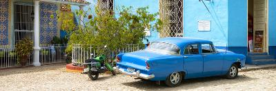 Cuba Fuerte Collection Panoramic - Blue Trinidad-Philippe Hugonnard-Photographic Print