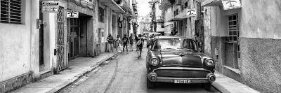 Cuba Fuerte Collection Panoramic BW - Havana Centro II-Philippe Hugonnard-Photographic Print