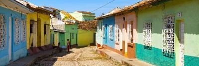 Cuba Fuerte Collection Panoramic - Colorful Architecture Trinidad IV-Philippe Hugonnard-Photographic Print