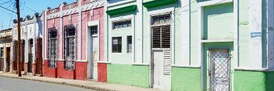 Cuba Fuerte Collection Panoramic - Colorful Facades-Philippe Hugonnard-Photographic Print