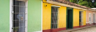 Cuba Fuerte Collection Panoramic - Colorful Street Scene II-Philippe Hugonnard-Photographic Print