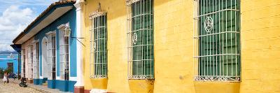 Cuba Fuerte Collection Panoramic - Colorful Street Scene-Philippe Hugonnard-Photographic Print