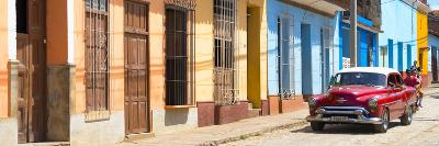 Cuba Fuerte Collection Panoramic - Cuban Urban Scene-Philippe Hugonnard-Photographic Print