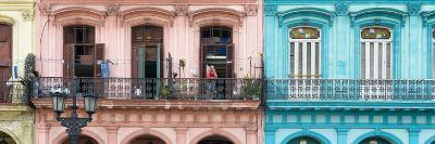 Cuba Fuerte Collection Panoramic - Havana Colorful Facades II-Philippe Hugonnard-Photographic Print