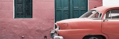 Cuba Fuerte Collection Panoramic - Havana Coral Street-Philippe Hugonnard-Photographic Print