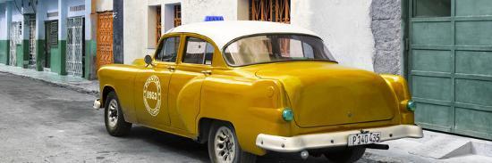 Cuba Fuerte Collection Panoramic - Honey Taxi Pontiac 1953-Philippe Hugonnard-Photographic Print