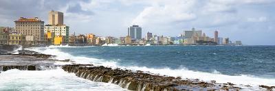 Cuba Fuerte Collection Panoramic - Malecon Wall of Havana-Philippe Hugonnard-Photographic Print