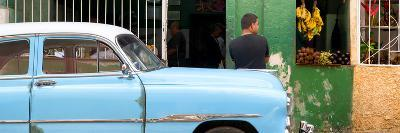 Cuba Fuerte Collection Panoramic - Street Scene-Philippe Hugonnard-Photographic Print