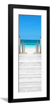 Cuba Fuerte Collection Panoramic - Way to the Beach-Philippe Hugonnard-Framed Photographic Print