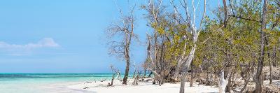 Cuba Fuerte Collection Panoramic - White Sand Beach-Philippe Hugonnard-Photographic Print
