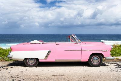 Cuba Fuerte Collection - Pink Car Cabriolet-Philippe Hugonnard-Photographic Print