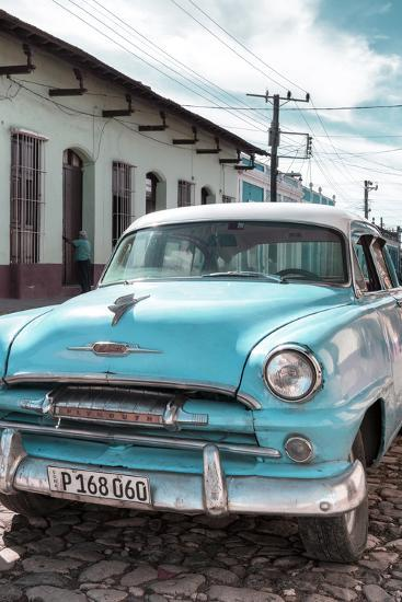 Cuba Fuerte Collection - Plymouth Classic Car IV-Philippe Hugonnard-Photographic Print