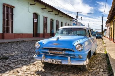 Cuba Fuerte Collection - Plymouth Classic Car-Philippe Hugonnard-Photographic Print