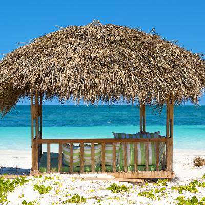 Cuba Fuerte Collection SQ - Beach Hut-Philippe Hugonnard-Photographic Print