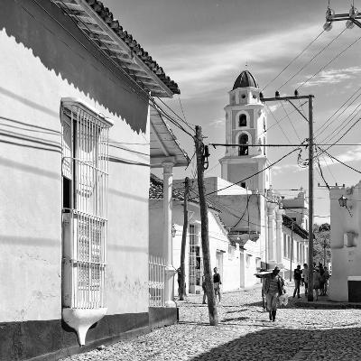 Cuba Fuerte Collection SQ BW - Architecture Trinidad-Philippe Hugonnard-Photographic Print