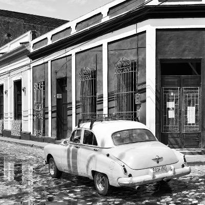 Cuba Fuerte Collection SQ BW - Cuban Street Scene III-Philippe Hugonnard-Photographic Print